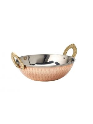 Copper Karahi - pack of 12