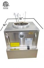 ETL-NSF-ANSI RESTAURANT GAS TANDOOR OVEN 32X32